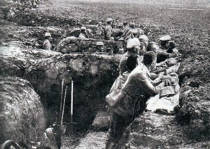 Germans at the Battle of the Aisne