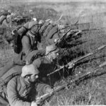 German soldiers at the First Battle of the Marne