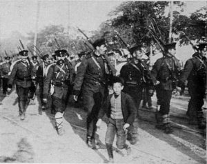 Bulgarian soldiers in World War I