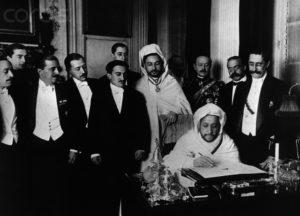 Signing of Treaty at Algeciras