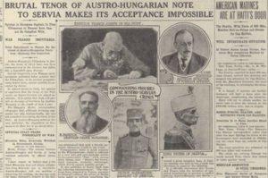 Austria-Hungary's ultimatum to Serbia report
