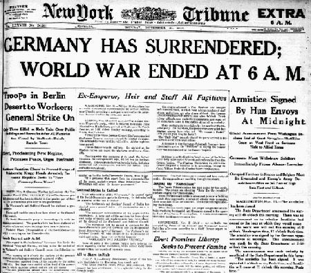 U.S. enters World War 1 report
