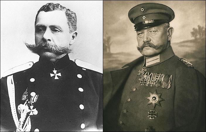 Paul von Rennenkampf & Paul von Hindenburg