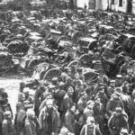 Russian prisoners of war after the Battle of Tannenberg