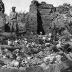 Armenian Genocide skulls