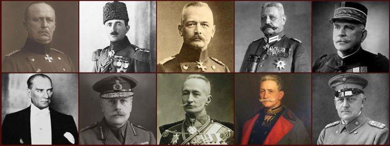 12 Major Military Leaders of World War I