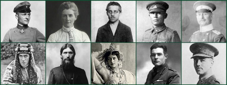 10 Most Legendary People From World War I