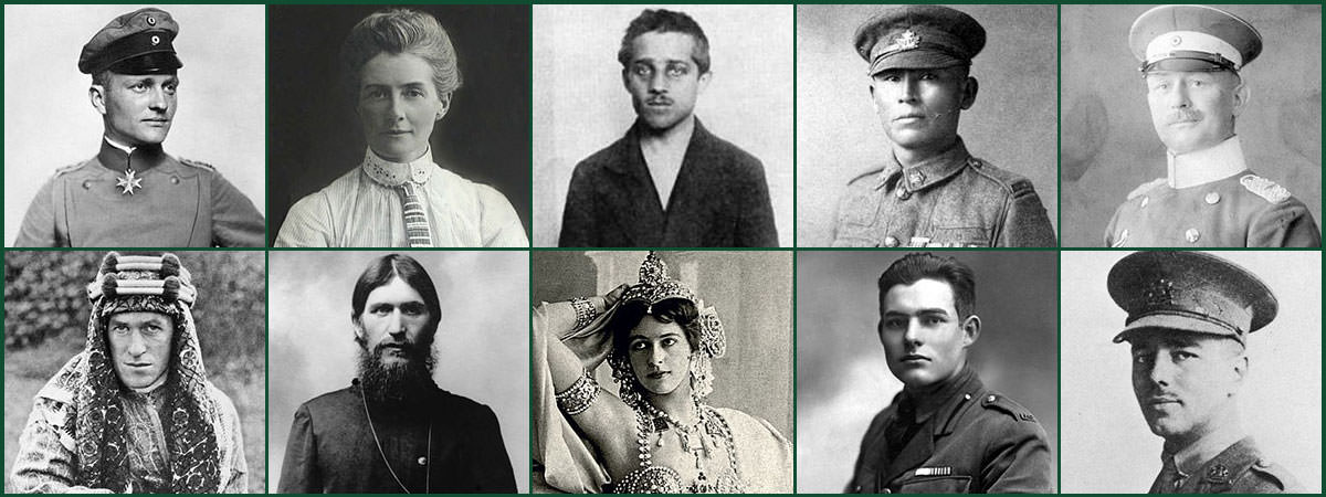 WW1 People Featured