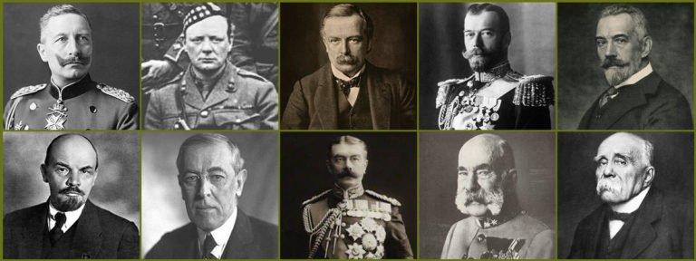 10 Major Political Leaders of World War I