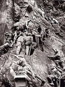 Austro-Hungarian mountain corps in WW1