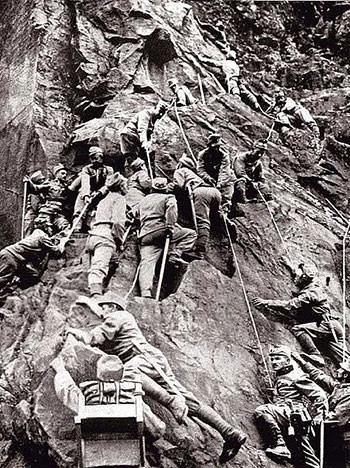 Austro-Hungarian mountain corps in WW1