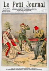 Balkan Crisis and Balkan Wars cartoon