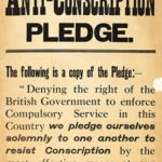 Ireland Anti-conscription pledge
