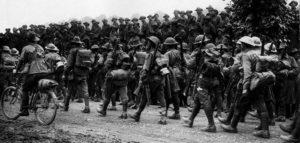 Australian 6th Brigade BEF soldiers