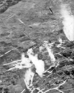 British gas attack against Germans