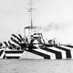 HMS Kildangan dazzle camouflage