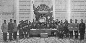 Young Turk Revolution leaders