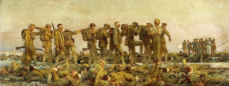 Gassed - John Singer Sargent