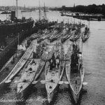 German submarines WW1