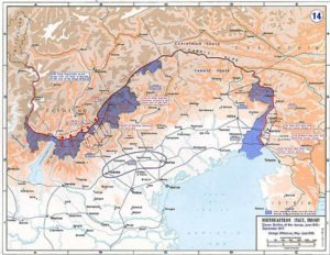 Battles of the Isonzo map