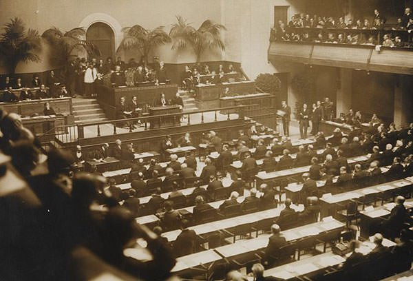 League of Nations opening