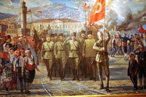 Turkish War of Independence painting