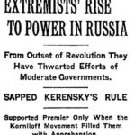 Extremists rise to power in Russia