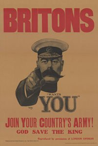 Kitchener Wants You poster