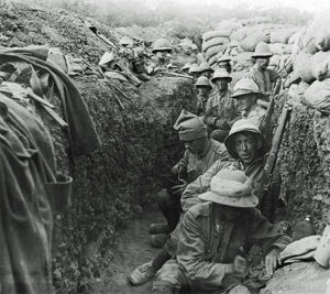 Irish troops in Gallipoli