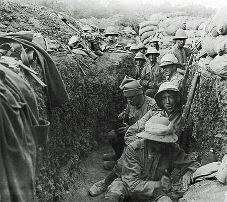 Irish troops in Gallipoli