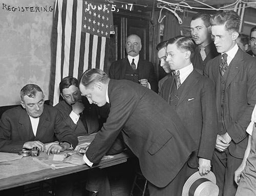Selective Service Act of 1917 registration