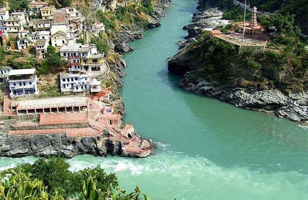 Bhagirathi & Alaknanda confluence