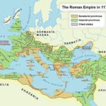 Roman Empire map, 117 CE