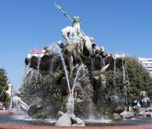 Poseidon's fountain in Berlin