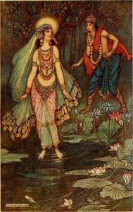 Shantanu Meets Goddess Ganga