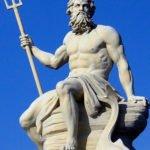 Poseidon statue in Copenhagen