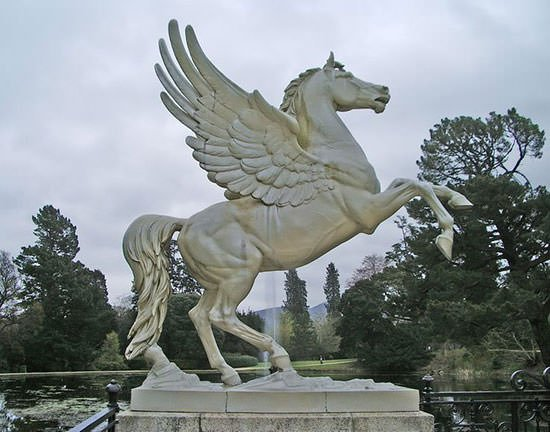 Pegasus statue