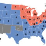 1896 US Presidential Election Map