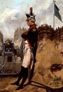 Alexander Hamilton during American Revolutionary War