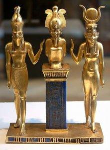 Isis, Osiris and Horus