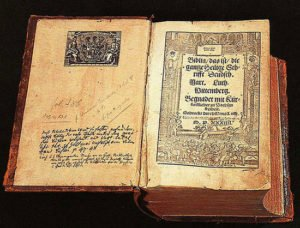 1534 Luther Bible