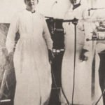 Marie Curie and her daughter Irene