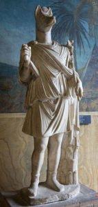 Statue of Hermanubis in Vatican Museums