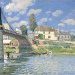 The Bridge at Villeneuve-la-Garenne (1872)