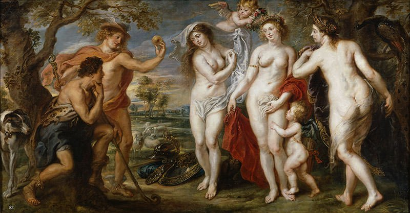 The Judgement of Paris - Peter Paul Rubens