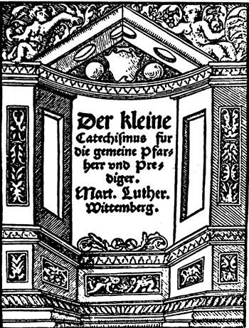 Luther's Small Catechism