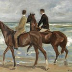 Two Riders on the Beach (1901)