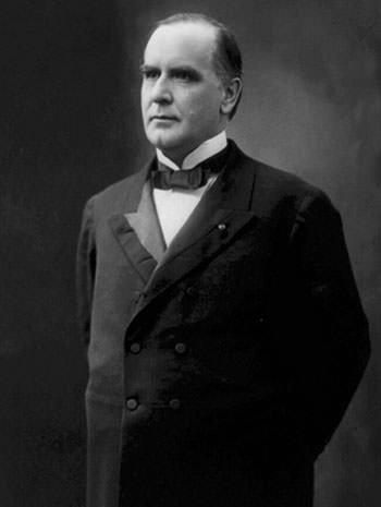 William McKinley in 1896