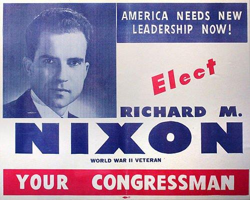 Richard Nixon election poster