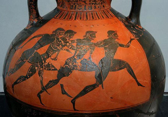 Panathenaic Games runners